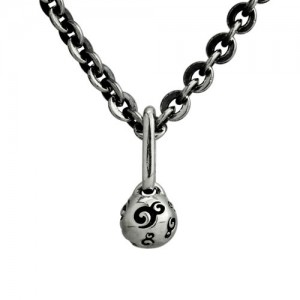 "OHM Ball Necklace (20""/50cm) / ohm經典logo眼球項鍊"
