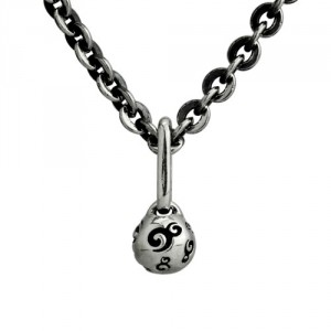 "OHM Ball Necklace (36""/90cm) / Ohm經典Logo眼球項鍊"