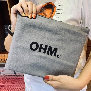 OHM Beads Anti Tarnish Play Tray Bag / 灰色串珠抗氧化棉袋