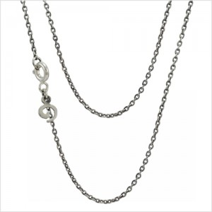 """Sterling Silver Chain (16""""/40cm) / 純銀極簡項鍊"""